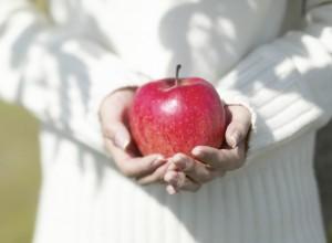 Apfel schenken